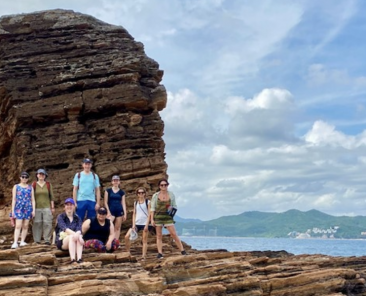 Encompass group in Tung Ping Chau